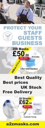 A2Z Masks Banner