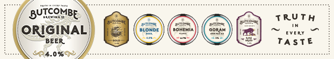Butcombe Brewing Banner