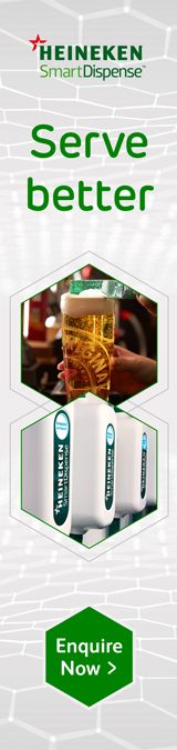 Heineken Smart Dispense Banner