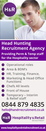 Hospitality and Retail Recruitment banner