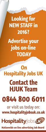 Hospitality Jobs UK Banner