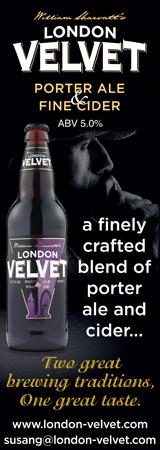 London Velvet Banner