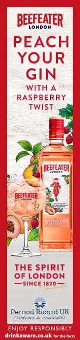 Beefeater London Peach Gin Banner