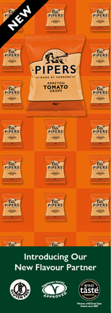 Pipers Crisps Banner