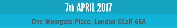 7th April 2017 – One Moorgate Place, London EC2R 6EA