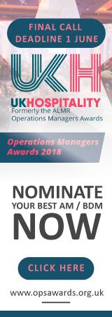 UK Hospitality Ops Awards Banner
